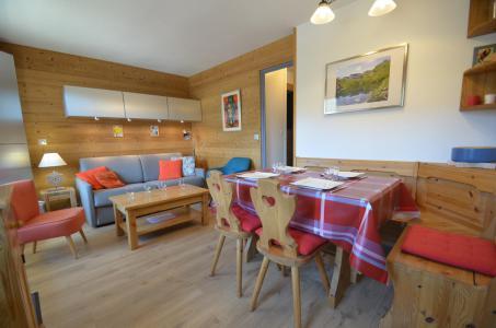 Vacances en montagne Appartement 2 pièces cabine 5 personnes (616) - Résidence le Nécou - Les Menuires - Séjour