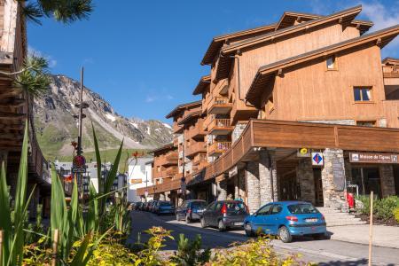 Location au ski Résidence le Névada - Tignes - Extérieur été