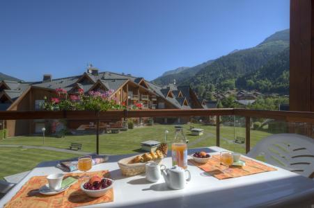 Location au ski Résidence le Névez - Les Contamines-Montjoie - Extérieur été