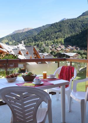 Location au ski Residence Le Nevez - Les Contamines-Montjoie - Extérieur été