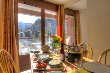Vacances en montagne Résidence le Névez - Les Contamines-Montjoie - Salle à manger
