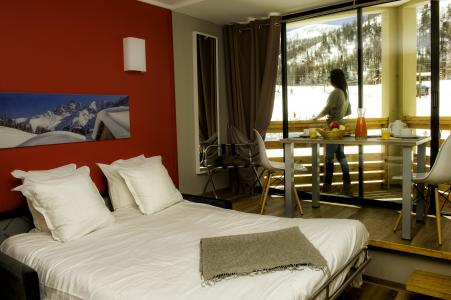 Vacances en montagne Résidence le New Chastillon - Isola 2000 - Chambre