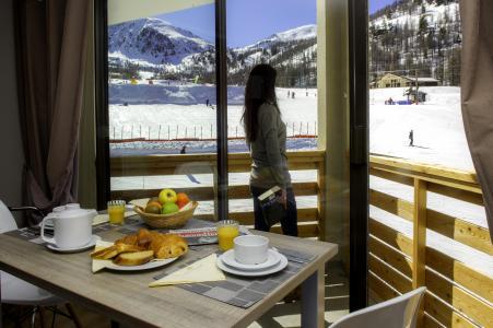 Vacances en montagne Résidence le New Chastillon - Isola 2000 - Coin repas