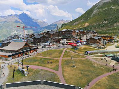 Location au ski Studio coin montagne 4 personnes (708) - Résidence le Palafour - Tignes - Extérieur été