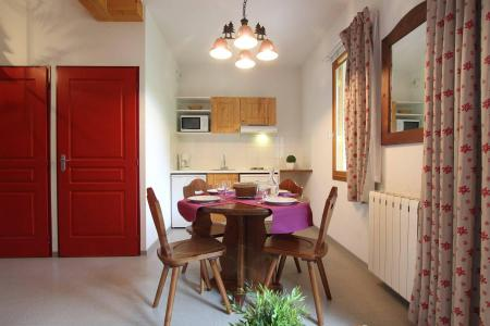 Vacances en montagne Studio cabine 4 personnes (32) - Résidence le Palatin - Pelvoux - Coin repas