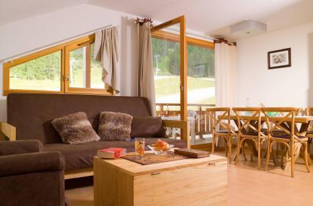 Vacances en montagne Résidence le Parc des Airelles - Les Orres - Coin séjour