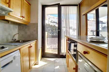 Holiday in mountain resort 3 room apartment 8 people (86) - Résidence le Pelvoux - Les Menuires - Plan
