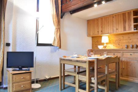 Vacances en montagne Studio mezzanine 4 personnes (A21) - Résidence le Pétaru - Méribel - Logement