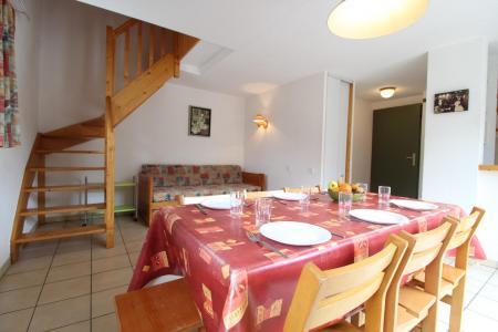 Holiday in mountain resort 3 room duplex apartment 8 people (30) - Résidence le Petit Mont Cenis - Termignon-la-Vanoise - Table