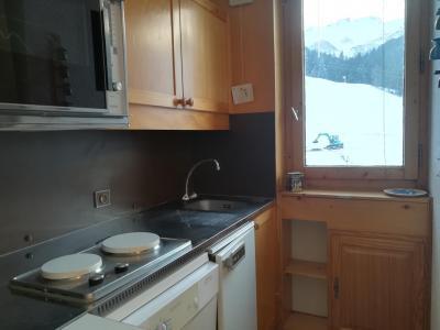 Vacances en montagne Appartement 2 pièces 5 personnes (041) - Résidence le Pierrafort - Valmorel - Kitchenette
