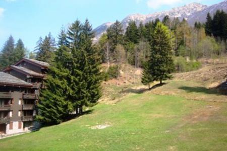 Location au ski Studio 4 personnes (051) - Résidence le Pierrer - Valmorel - Extérieur été