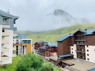 Vacances en montagne Studio 4 personnes (029) - Résidence le Pramecou - Tignes - Extérieur été