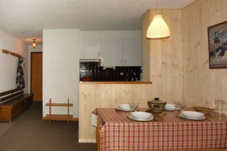 Holiday in mountain resort 2 room apartment sleeping corner 6 people (B17) - Résidence le Praya - Montgenèvre - Kitchenette