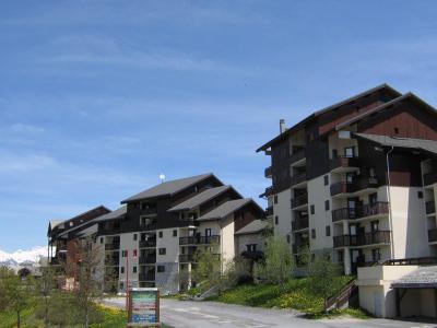 Location au ski Résidence le Praz de l'Ours 2 - Peisey-Vallandry - Extérieur été