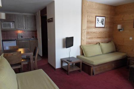 Holiday in mountain resort Studio 3 people (556) - Résidence le Quartz - La Plagne - Living room