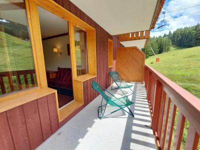 Аренда на лыжном курорте Апартаменты 2 комнат 5 чел. (309) - Résidence le Rami - Montchavin La Plagne - летом под открытым небом