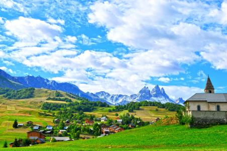 Vacances en montagne Résidence le Relais des Pistes - Albiez Montrond - Extérieur été