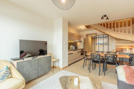 Vacances en montagne Appartement 3 pièces 6 personnes (112) - Résidence le Ridge - Les Arcs - Coin repas