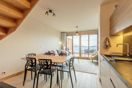 Vacances en montagne Appartement 3 pièces 6 personnes (112) - Résidence le Ridge - Les Arcs - Salle à manger