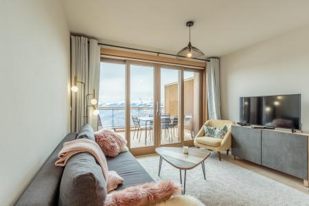 Vacances en montagne Appartement 3 pièces 6 personnes (112) - Résidence le Ridge - Les Arcs - Séjour