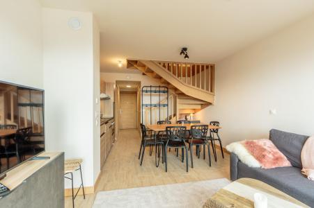 Vacances en montagne Appartement 3 pièces 6 personnes (112) - Résidence le Ridge - Les Arcs - Table