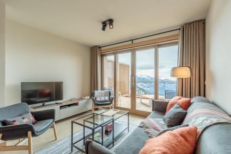 Vacances en montagne Appartement 3 pièces 6 personnes (113) - Résidence le Ridge - Les Arcs - Coin séjour