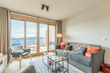 Vacances en montagne Appartement 3 pièces 6 personnes (113) - Résidence le Ridge - Les Arcs - Séjour