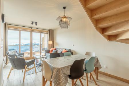 Vacances en montagne Appartement 3 pièces 6 personnes (113) - Résidence le Ridge - Les Arcs - Table