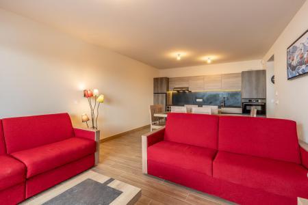 Vacances en montagne Appartement 3 pièces 8 personnes (303) - Résidence le Ridge - Les Arcs - Séjour