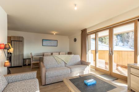 Vacances en montagne Appartement 4 pièces 10 personnes (302) - Résidence le Ridge - Les Arcs - Banquette