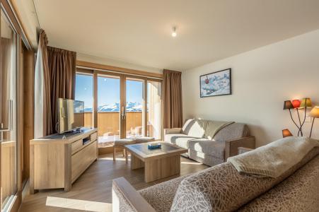 Vacances en montagne Appartement 4 pièces 10 personnes (302) - Résidence le Ridge - Les Arcs - Canapé