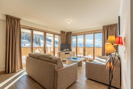 Vacances en montagne Appartement 4 pièces 10 personnes (302) - Résidence le Ridge - Les Arcs - Séjour