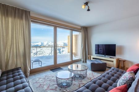 Vacances en montagne Appartement 5 pièces 11 personnes (109) - Résidence le Ridge - Les Arcs - Canapé