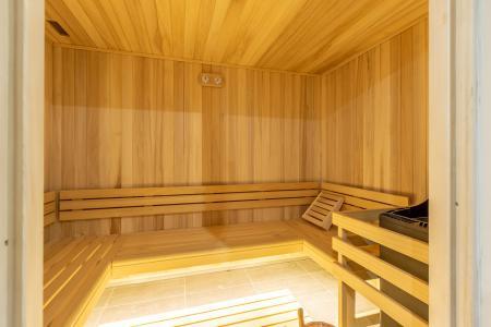 Vacances en montagne Résidence le Ridge - Les Arcs - Sauna