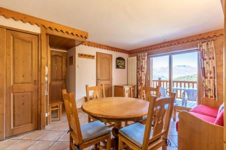 Holiday in mountain resort 3 room apartment 4 people (B41) - Résidence le Roselend - Les Arcs - Table