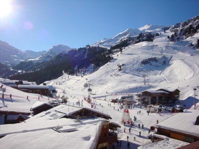 Vacances en montagne Studio 4 personnes (505) - Résidence le Ruitor - Méribel-Mottaret
