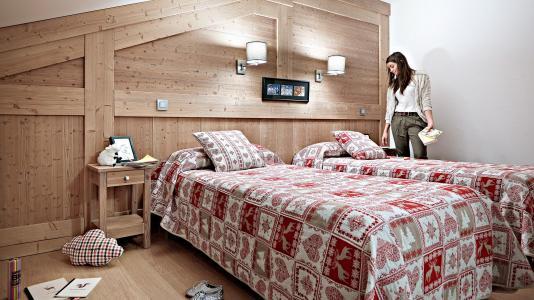 Vacances en montagne Résidence le Ruitor - Sainte Foy Tarentaise - Chambre mansardée