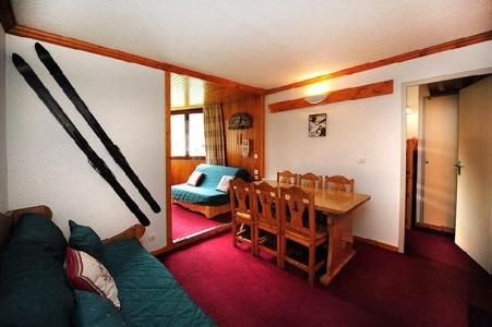 Vacances en montagne Appartement 2 pièces cabine 6 personnes (211) - Résidence le Sorbier - Les Menuires - Séjour