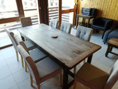 Vacances en montagne Appartement 2 pièces 6 personnes (63) - Résidence le Super Tignes - Tignes - Table