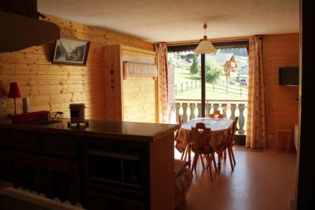 Vacances en montagne Studio 4 personnes - Résidence le Sylvia - Châtel - Séjour