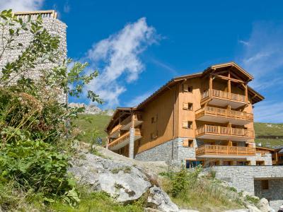 Location au ski Résidence le Télémark - Tignes - Extérieur été