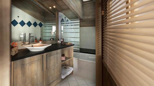 Vacances en montagne Résidence le Télémark - Tignes - Salle de bains