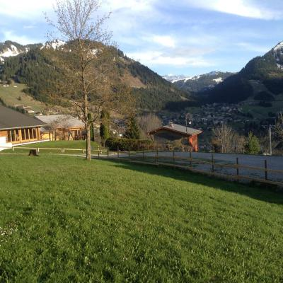 Vacances en montagne Studio coin montagne 4 personnes (27B) - Résidence le Terroit - Châtel - Extérieur été