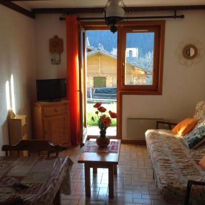 Vacances en montagne Studio coin montagne 4 personnes (27B) - Résidence le Terroit - Châtel - Logement
