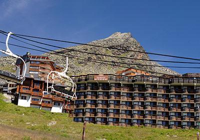 Location au ski Residence Le Tourotel - Val Thorens - Extérieur été