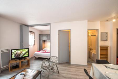 Vacances en montagne Appartement 2 pièces cabine 2-4 personnes - Résidence le Triolet - Chamonix - Séjour