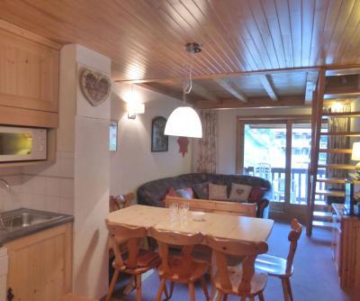 Vacances en montagne Appartement duplex 4 pièces 6 personnes (15) - Résidence le Troillet - Méribel - Séjour