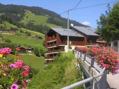 Location au ski Residence Le Val Blanc - Arêches - Extérieur été