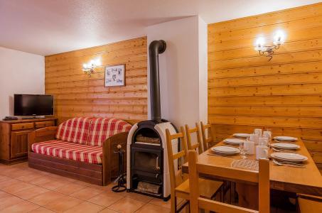 Vacances en montagne Résidence le Val Chavière - Val Thorens - Poêle à bois