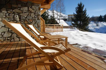 Holiday in mountain resort 4 room apartment 6 people (002) - Résidence le Val Ecrins - Les 2 Alpes